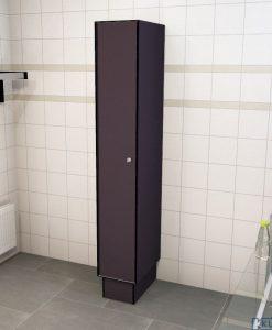 0077 1 TL 300 lockers 1 door Solid Grade Laminate