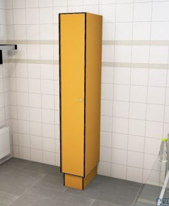 0095 1 TL 300 lockers 1 door Solid Grade Laminate