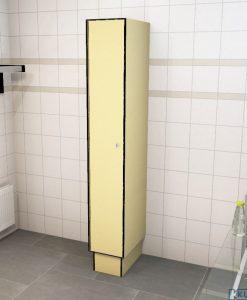 0687 1 TL 300 lockers 1 door Solid Grade Laminate