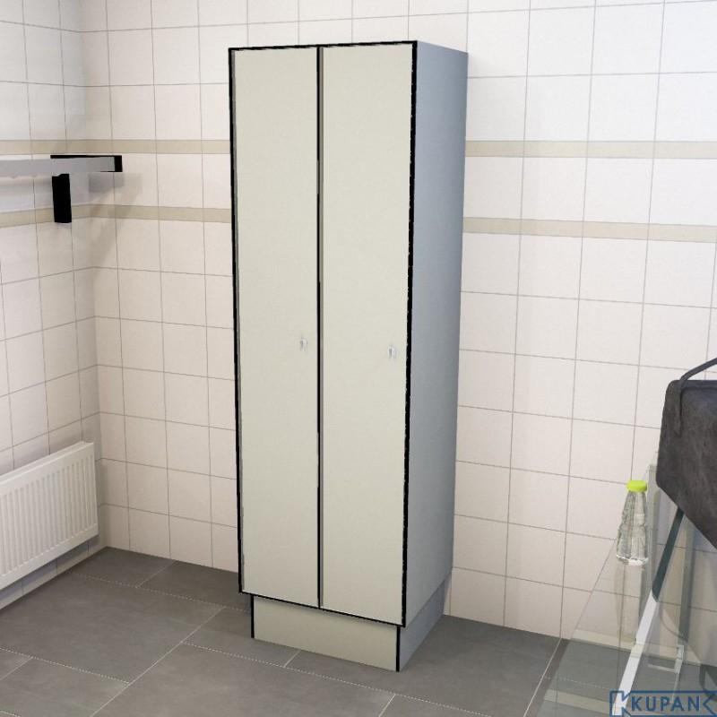 0074 1 TL 300 lockers 2 doors ... & 1 TL 300 2 Doors Solid Grade Laminate Lockers - Iab - Shop