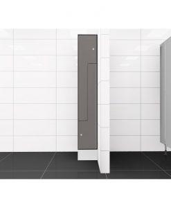 0075 2 TLZ 300 lockers 2 door Solid Grade Laminate