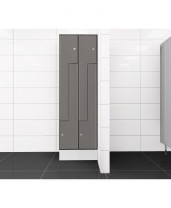 0075 2 TLZ 300 lockers 4 door Solid Grade Laminate
