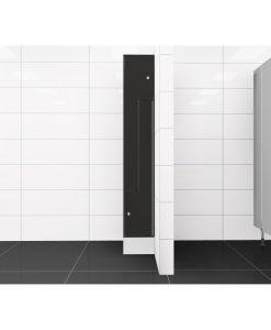 0077 2 TLZ 300 lockers 2 door Solid Grade Laminate