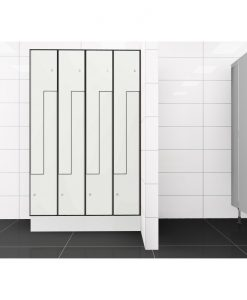 0085 2 TLZ 400 lockers 8 door Solid Grade Laminate
