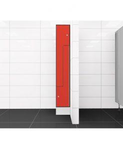 0210 2 TLZ 300 lockers 2 door Solid Grade Laminate