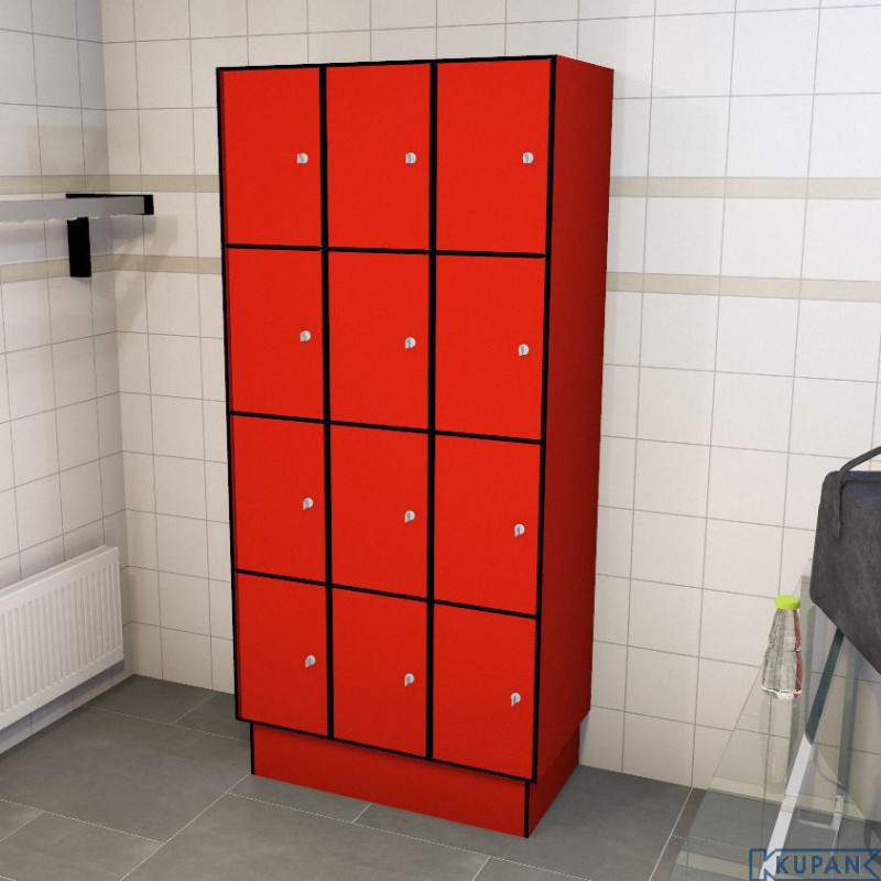 0210 4 tl 400 lockers 12 door solid grade laminate iab for 12 door lockers