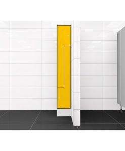 0212 2 TLZ 300 lockers 2 door Solid Grade Laminate