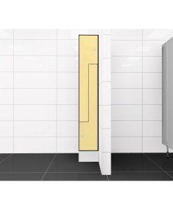 0687 2 TLZ 300 lockers 2 door Solid Grade Laminate