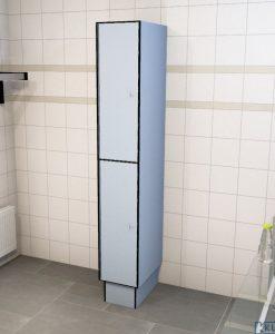 0718 2 TL 400 lockers 2 door solid grade laminate