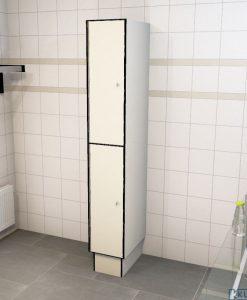 0733 2 TL 300 lockers 2 door solid grade laminate