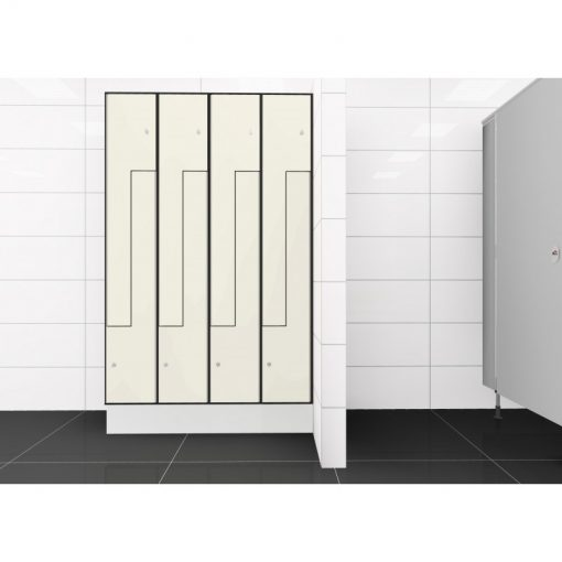 Solid Grade Laminate Locker 2TLZ 8 Door