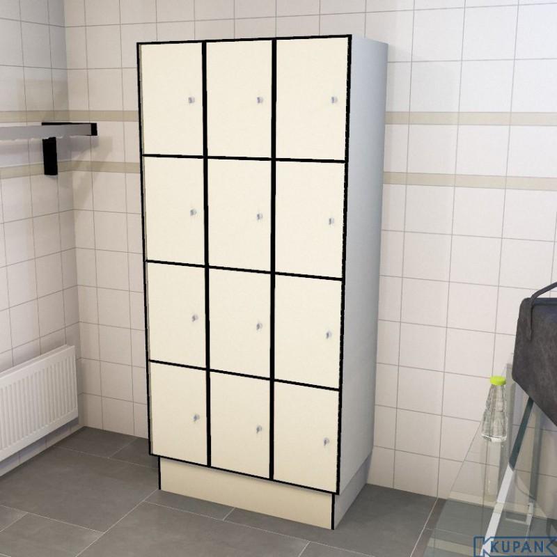 0733 4 tl 400 lockers 12 door solid grade laminate iab for 12 door lockers