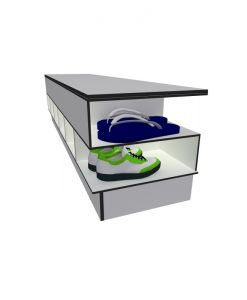 3 Step Over Benches with Shoe Rack 4 Solid Grade Laminate