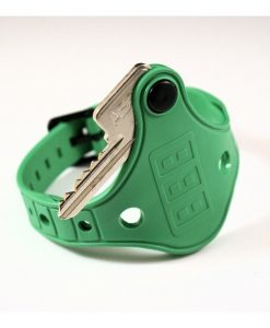 Green Mykee Locker Wristband