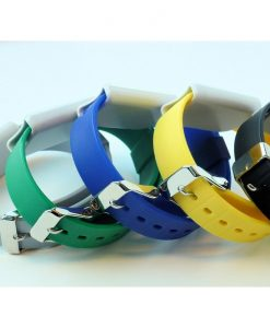 Multi Ojmar wristband with stainless steel clasp